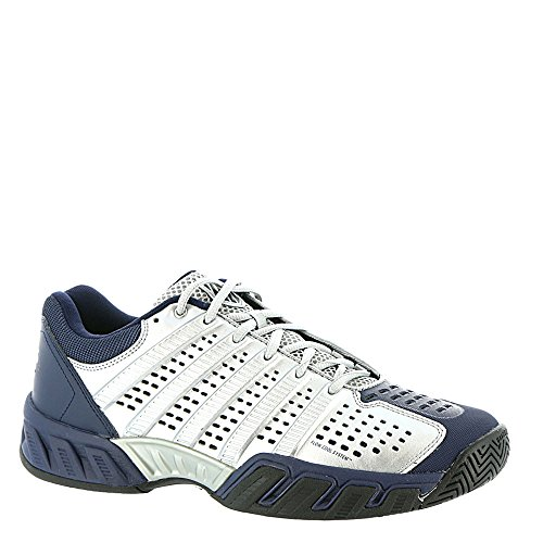 K-Swiss , chaussures basses homme Silver/Navy/Black
