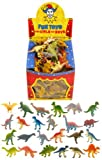 12 Mini Dinosaur Toys / Gift Favours / Childrens Kids Party Bag Fillers