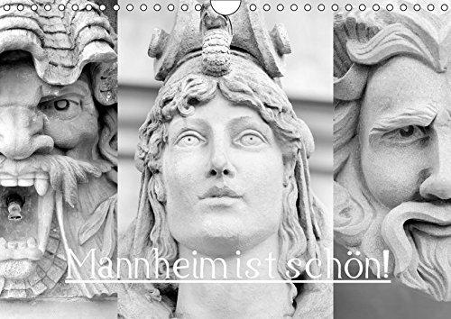 Mannheim ist Schön! (Wandkalender 2017 DIN A4 quer): Sehenswürdigkeiten einer schönen Stadt. (Monatskalender, 14 Seiten) (CALVENDO Orte)
