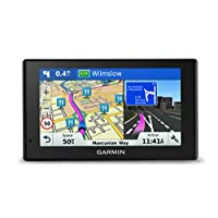 Garmin DriveSmart 50LMT-D Satellite Navigation with Full Europe Lifetime Maps and Traffic, 5 inch - Black
