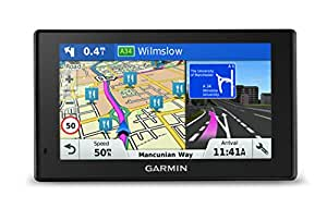 Garmin DriveSmart 50LM Satellite Navigation with Full Europe Lifetime Maps - 5 inch, Black