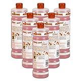 6x 1,0 L Flaschen Kiehl Sanpurid Citro - WC Entkalker - Sanitärreiniger - Kalkentferner - Wassersteinentferner - Urinsteinlöser - Kalklöser