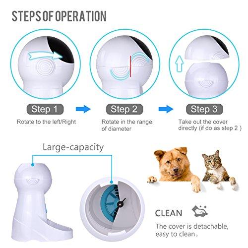 Zoom IMG-3 distributore automatico cibo gatti iseebiz