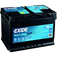 Exide 096 AGM Car Battery 70Ah AGM700 EK700 preiswert