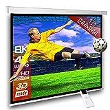 Écran de projection motorisé 244 x 244 cm SlenderLine Plus, Format 1:1 FULL-HD 3D...