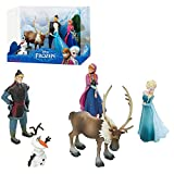 Disney Eiskönigin Frozen - Deluxe Set Spielfiguren - 5 Figuren Set