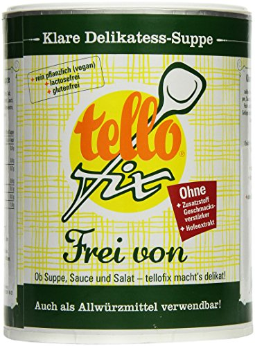 tellofix Frei von, 1er Pack (1 x 540 g Packung)