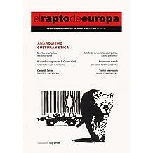 Revista El Rapto de Europa 29. Anarquismo, cultura y ética
