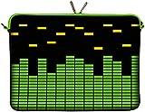 Digittrade Laptop Sleeve 15 Zoll Neopren Notebook Tasche 15 6 IdeaPad Schutzhülle Laptoptasche schwarz 38,1 - 39,6 (15 - 15,6 Zoll) Equalizer LS154-15