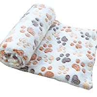 Wicemoon Pet Blanket Doghouse Mat Dog Blanket Warm Blanket Thickening Super Soft and Fluffy Dog Cat Puppy Blanket