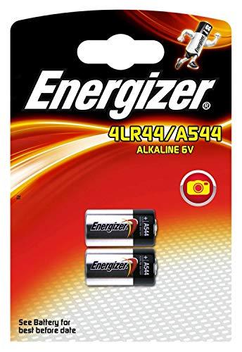MARQUE ENERGIZER - 4 piles 4LR44 A544 PX28 - ALCALINE 6V