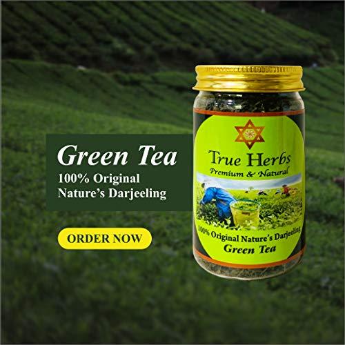 True Herbs Darjeeling Farms Long Leaf Green Tea, 100 g