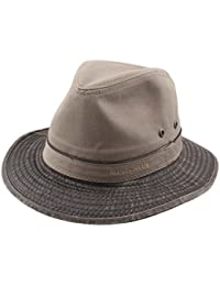 Stetson - Chapeau fedora homme Traveller Cotton