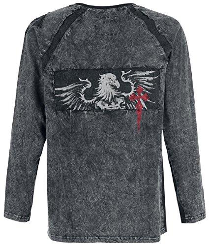 Black Premium by EMP Evil Eagle Longsleeve Longsleeve schwarz Schwarz