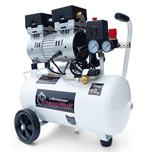 Preisvergleich Produktbild KnappWulf Kompressor mucksmäuschenstill Modell KW1024 Airbrush 69dB