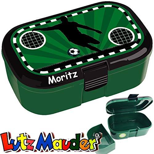 Lunchbox * Fussball Plus Wunschname * für