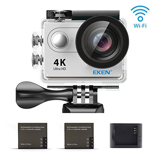 "EKEN H9 Wifi 4k a 10fps(interpolación) o 25fps firmware, Wifi, pantalla FHD 2"",30m sumergible"