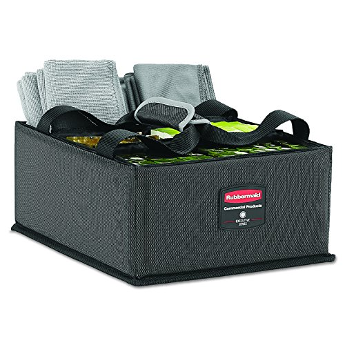 Rubbermaid 1902468 Quick Warenkorb Caddy (groß) dunkelgrau (Rubbermaid Groß)