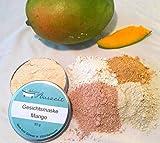 Gesichtsmaske Mango - bei normaler, sensibler bis fettiger Haut, ohne Palmöl und Konservierungsstoffe, Gesichtsmaske aus natürlichen Heilerden von kleine Auszeit Manufaktur
