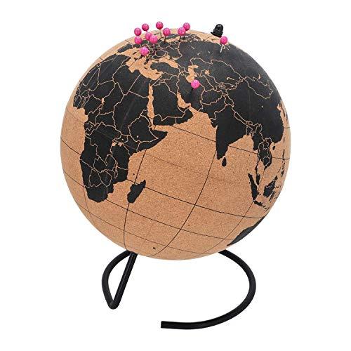 TravelMarker Kork Globus | mit Pins zum Festhalten der Reise | Extra Groß