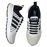 RJ-Sport Elastische Silikon Schnürsenkel flach für Kinder und Erwachsene - perfekter schleifenloser Schnürbänder Ersatz (20 Schnürrlie's) (Schwarz)