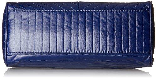 Kipling Damen Sunbeam Henkeltasche, 34x24x15 cm Blau (Shiny Blue)