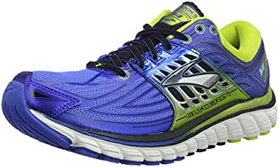 Brooks Men's Glycerin 14 Running Shoes, Blue (Electricbrooksblue/limepunch/black), 6 UK