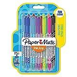 Paper Mate InkJoy 100 RT Wrap Stylos-billes, Pointe Moyenne Rétractable, Lot de 18 Couleurs