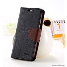 Lize Stylish Mercury Flip Cover for Samsung J7 Pro_Brown