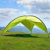 WolfWise Abris de Plage Super Spacieux Tente de Camping pour Camping Randonnée Pêche Plage Pique-Nique