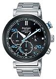 Pulsar Reloj cronografo para Hombre de Energía Solar con Correa en Acero Inoxidable PZ5065X1