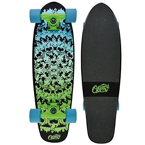 "Osprey Fire Boy 27.5\"" Complete Maple Deck Cruiser Skateboard"
