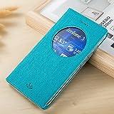 Coque Zenfone 3 ZE552KL, Yoota Etui de Protection en Cuir Coque à rabat pour Asus...