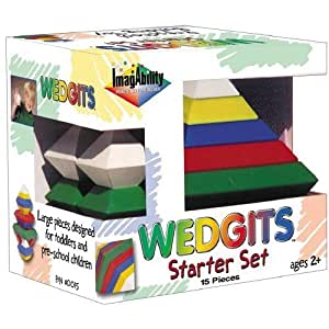Brybelly TIGB-04 Wedgits Building Blocks Starter Set by Brybelly