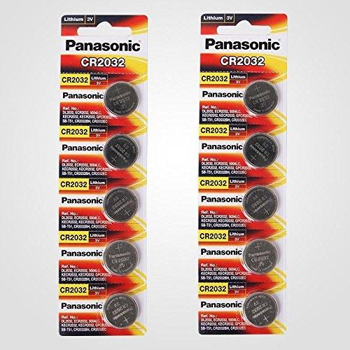 Panasonic CR20323V litio pilas de botón batería DL2032ECR2032
