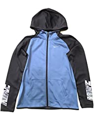 Nike G Thrma Hoodie Fz At Gfx - Sudadera para niña, color azul, talla S