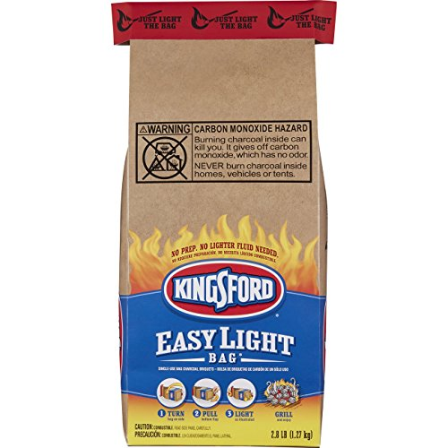 KINGSFORD PRODUCTS CO - EASY LIGHT CHARCOAL BAG  2 8-LB
