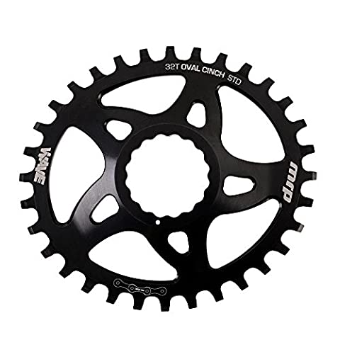 MRP Wave chainring Race Face Oval 32T black