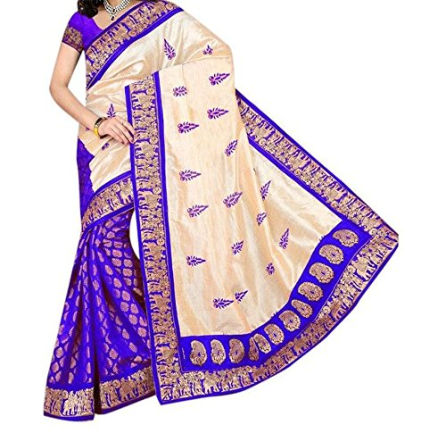 Saree (Women\'s Clothing Saree For Women Letest Design wear Saree New Collection In Multi-Coloured And Material Letest Saree With Desginer Blouse Free Size Beautiful Bollywood Saree For Women Party We