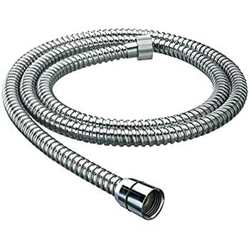 DRIZZLE Chrome Plated 1.5 m Flexible Tube (Silver)