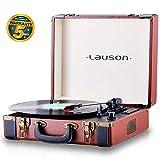 Lauson Platine Vinyle Bluetooth | Tourne-Disque avec USB | MP3 | RCA | Valise...