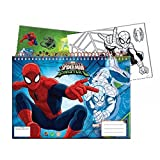 GUIZMAX Cahier de Dessin, Livre de coloriage A4 + Stickers Spiderman...