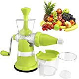 [Sponsored]Ankur Fruits & Vegetable Juicer With Steel Handle & Waste Collector, Multicolor (Improved Quality)