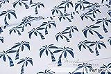 Mamasliebchen Jersey-Stoff Hawaii #White (0,5m) Palme