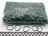 Progom - Elastiques - 60(Ø38) mm x 5mm -vert- sac de 1kg