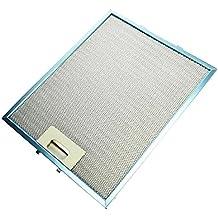 Hotpoint metal de aluminio Campana de filtro de grasa, 320mm x 260mm