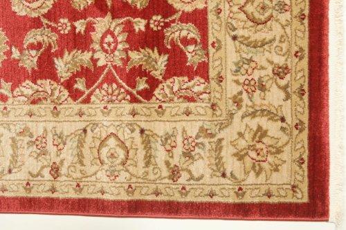 FeelGoodRugs 160 x 230 cm Ziegler Kaspin Oriental Carpet Rug, Red