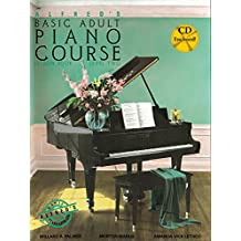 Alfred's Basic Adult Piano Course Lesson Book, Bk 2: Book & CD