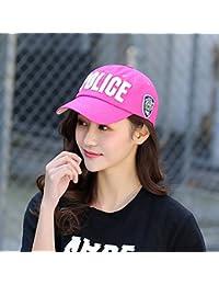 YXLMZ Señoras Mujeres Casual Sombreros Bordados Gorra de Béisbol de Algodón  Tapa Tapón Deportivo par Cap b9f75cb9d9d