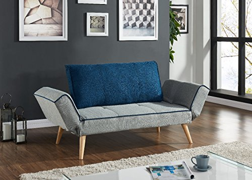 ebs schlafsofa sofabett 3 sitzer sofa klappsofa modern design m. Black Bedroom Furniture Sets. Home Design Ideas